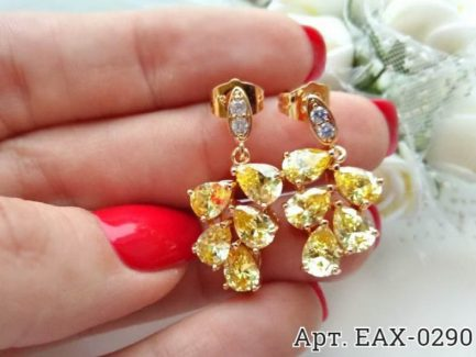 Серьги EAX-0290 бижутерия под золото