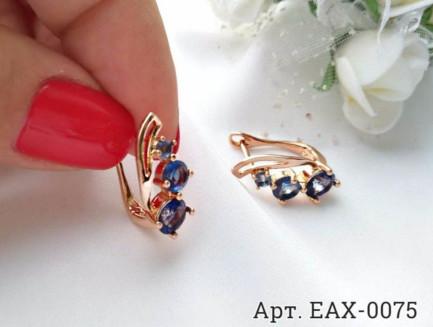 Фианитовые серьги EAX-0075 недорого