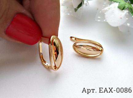 Серьги позолоченные EAX-0086 цена