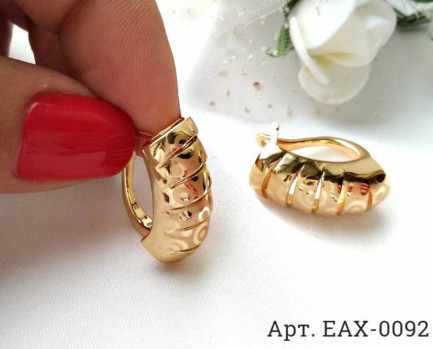 Серьги EAX-0092 бижутерия под золото