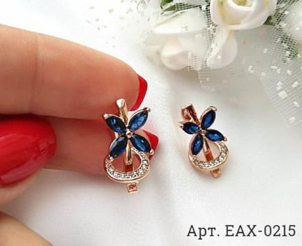 Фианитовые серьги EAX-0215 стоимость