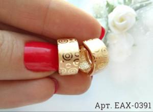 Cерьги позолоченные EAX-0391 цена