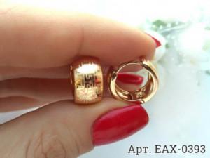 Cерьги c золотым покрытием EAX-0393 стоимость