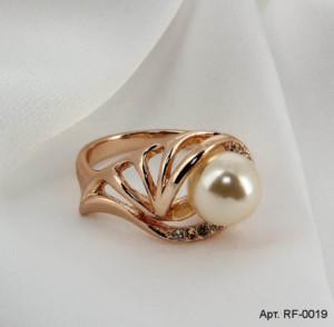 Кольцо с жемчугом RF-0019 купить