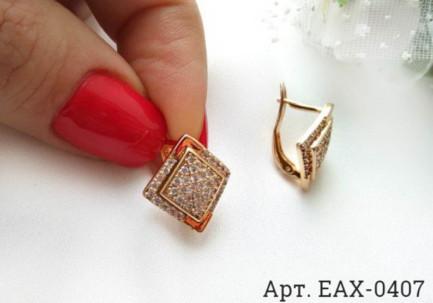 Серьги EAX-0407 бижутерия под золото