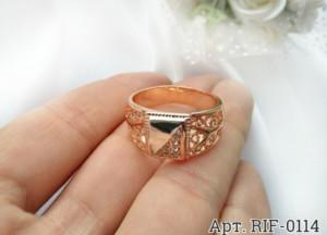 Кольцо мужское с фианитами RIF-0114 стоимость