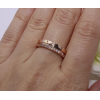 Кольцо позолоченное с фианитами RIF-0119 бижутерия