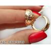 Серьги с золотым покрытием EAX-0540 недорого