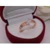 Фианитовое кольцо RIF-0164 медицинское золото