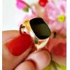 Кольцо мужское с золотым покрытием RIF-0176 бижутерия