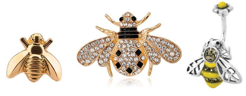 украшения пчелы