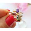 Фианитовое кольцо RIF-0010 стоимость