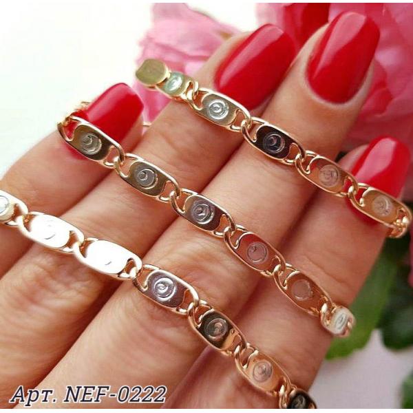 Цепочка с комбинированным покрытием NEF-0222 стоимость