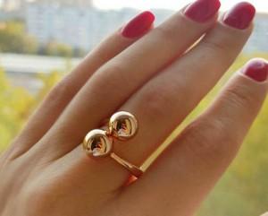 Кольцо позолоченное RIF-0154 цена