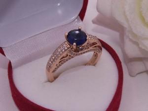 Кольцо R-0040 медицинское золото