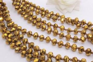 Бусы цвета золота BD-0014