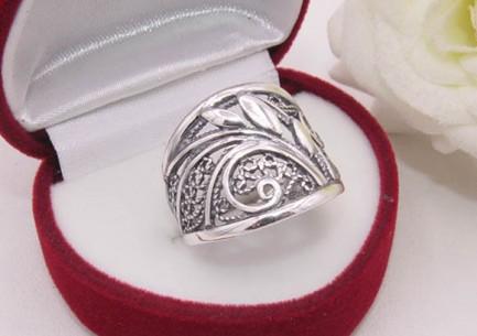 Кольцо ажурное посеребренное R-0100 цена