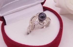 Кольцо ажурное с родиевым покрытием R-0112 стоимость
