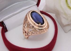 Кольцо ажурное с цветным фианитом R-0192 стоимость