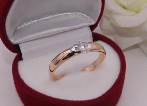 Кольцо с фианитовой вставкой R-0212 стоимость