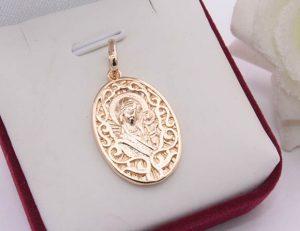 Иконка с золотым покрытием
