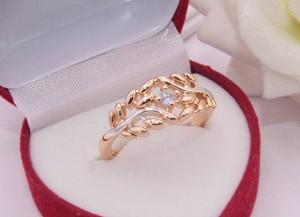 Кольцо ажурное с фианитом R-0226 стоимость