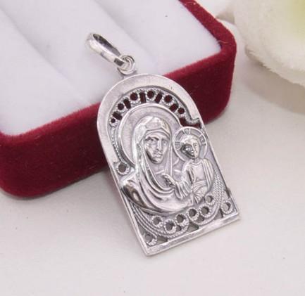 Кулон Казанская икона Божией Матери